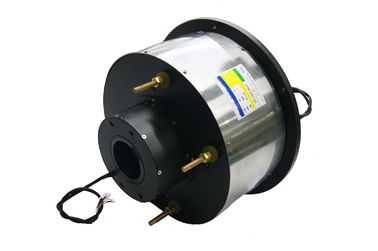 China 14 Circuits Routing Through Bore Slip Ring φ80mm 400A Large Current For Marine distributor