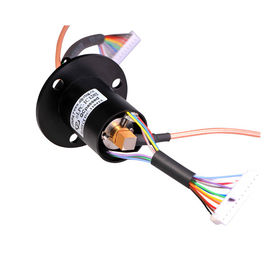 China 12 Circuits Slip Ring RF Coaxial Joint With Lifetime Over-Long And High-Power Connector For CCTV Pan distributor