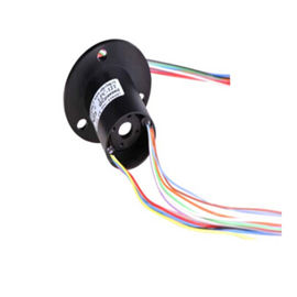China Through-Hole High-Speed Slip Ring with Gold-Gold Contacts and Low Electrical Noise for CCTV Equipment factory