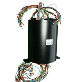 China 46 Wires Big Bore Slip Ring Low Electrical Noise And High Protection For Military Device distributor