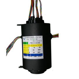 China Compact 54 Ways Big Bore Slip Ring Commutator For Offshore Cranes , Stable Performance distributor