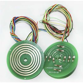 China Pancake Slip Ring 5 Circuits Ultra-Thin Design  Separate PCB Multi Circuits Design distributor