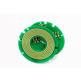 China Pancake Slip Ring 28mm Hole Bright Color High Reliability Transmitting In Harsh Operating Environments distributor
