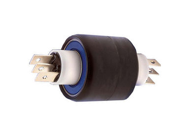 China 4 Poles Mercury Slip Ring  Low Electrical Noise And Contact Resistance Application For  Wind Turbines distributor