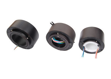 China Bore Dimension Optional Slip Ring 12 Circuits Long Life Low Contact Wear In Rotating Sensor distributor