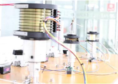 China JINPAT Electrical Slip Ring 1000 MΩ @ 500 VDC Resistance  Long Life In Testing Device distributor
