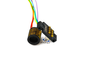 China Electrical Compact Separate Slip Ring For Robotics 8 Circuits distributor
