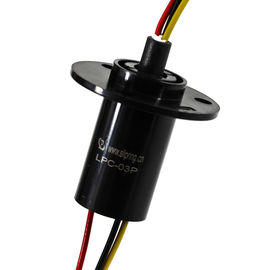 China High Speed Slip Ring Rotary Joint For LED Lights 360° Continuous Rotation distributor