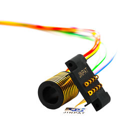 China 10 Circuits Electric Slip Ring 100rpm Speed Transmitting 2A For OEM Machinery distributor