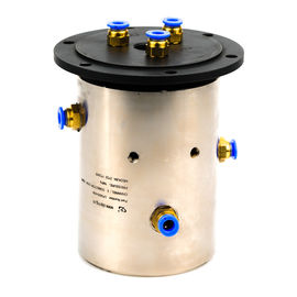 China Slip Ring of 3 Channels Rotary Union Joint Routing Oxygen & Acetylene for Automation Equipment distributor