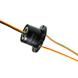 China 6 Circuits 2 Amps Per Circuit Electrical Slip Ring with Low Electrical Noise for LED Display Equipment distributor