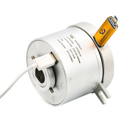 5 Circuits Through Bore USB Slip Ring With USB 2.0A Female Wire and An Inner Diameter of 20mm