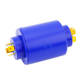 China 6 circuits 20A, 2 circuits 5A Pin Connection Slip Ring of 8 Circuits 360° Rtating Transmission for Cable Reel factory