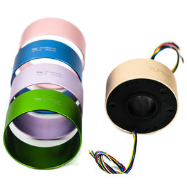 China Different Colored Housing Slip Rings A 38.1mm Through Bore For Operation Theater Lights distributor