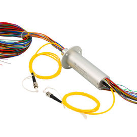China Electrical and Optical Slip Ring with 240 VDC Volatge 50Hz Frequency for Electro-optical Pod distributor