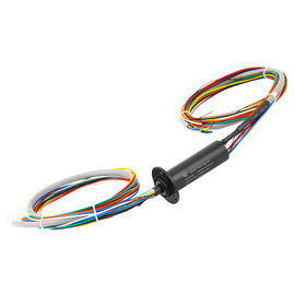 China 10 Circuits Ethernet Slip Ring 36 Million Turns With 0~24 Rpm Working Speed distributor