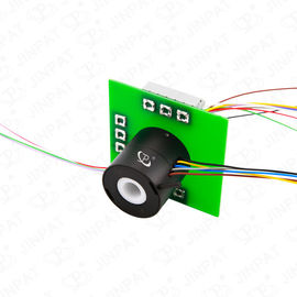 China 9 Circuits Through Hole Slip Ring Transmitting Power with 240V Voltage and 2A per Circuit factory