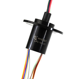 China 18 Circuits 2A High-Speed Slip Ring with Flange for Search Light with Low Electrical Noise factory