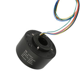 China Compact Structure Rotary Slip Ring 6 Circuits Diameter 25.4mm Flexible Installation factory