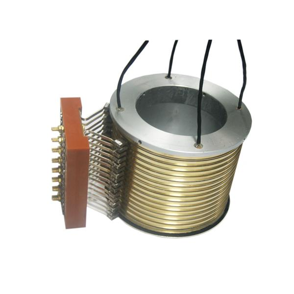 16 Circuits Separate Standard Slip Ring 2500rpm High Speed 150℃ High Working Temp