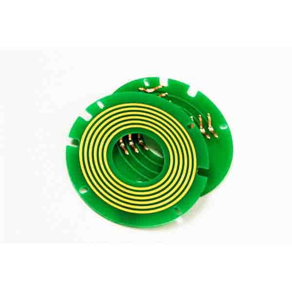 Pancake USB2.0 Slip Ring of 28mm Hole Dia with Highly Reliable Transmission for Harsh Operating Environment