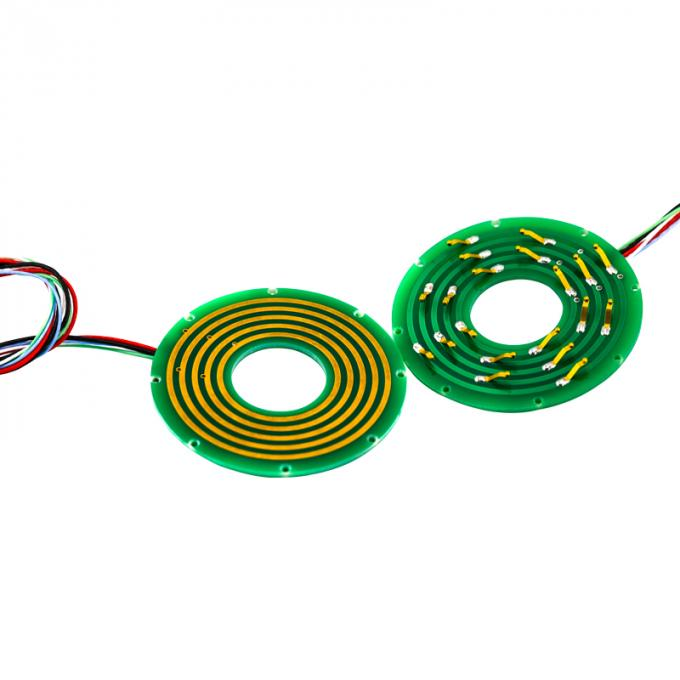 2 Circuits Pancake Slip Ring with Separate Stator and Rotor for Air-to-Air Missiles