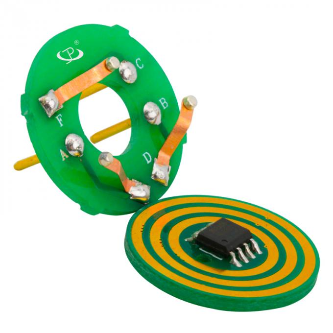 6mm Thickness Pancake Slip Ring with Low Electrical Noise and IP54 Protection for Index Table