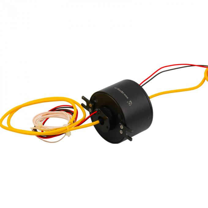 Precious Metal Slip Ring Solutions Electrical And Fiber Optic Rotary Joint