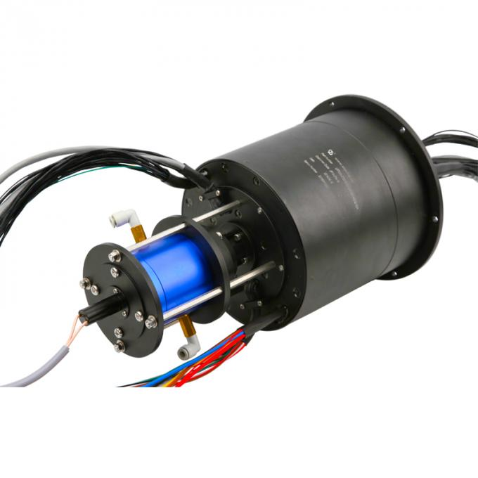 95 Circuits Pneumatic Hydraulic and Electrical Integrated Slip Rings with 10 Million Turns for Military Radar System