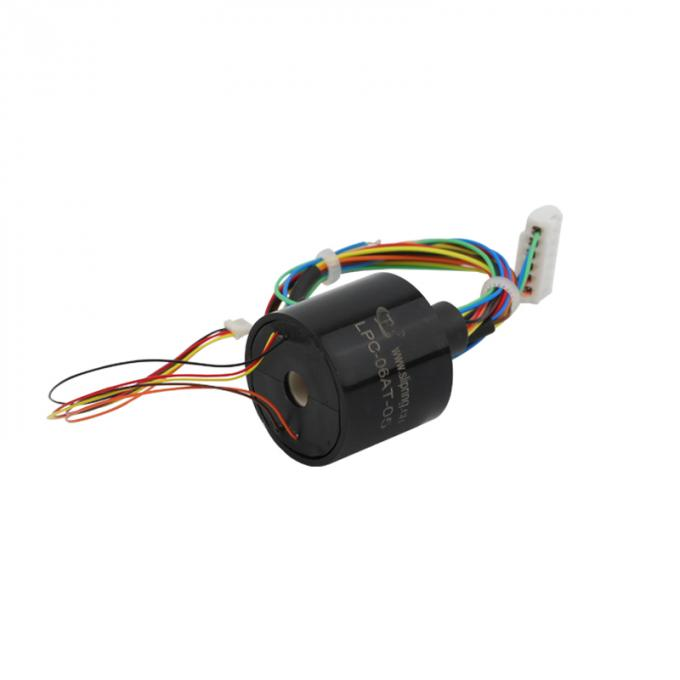 5 Circuits Capsule Slip Ring with 5VAC Voltage and Wide Working Temperature Range for LED Industry
