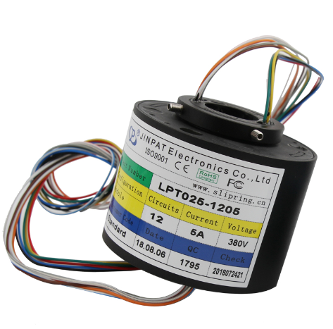 slip ring wind generators 240VAC Protection Grade IP54 Can be used in military equipment slip ring 12 circuits 1