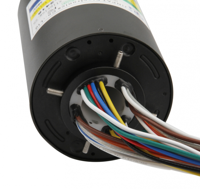 through hole slip ring 15a 240VAC can be used of magnetic sensor rotary sensor through hole slip ring 38mm