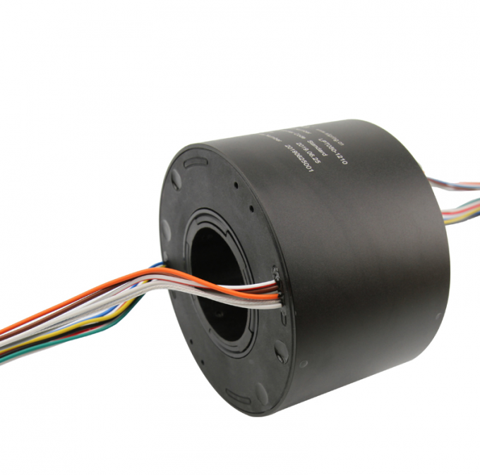Crane Through Hole Slip Ring 12 Circuit 15A 60% RH Below Via Diameter 50mm IP44