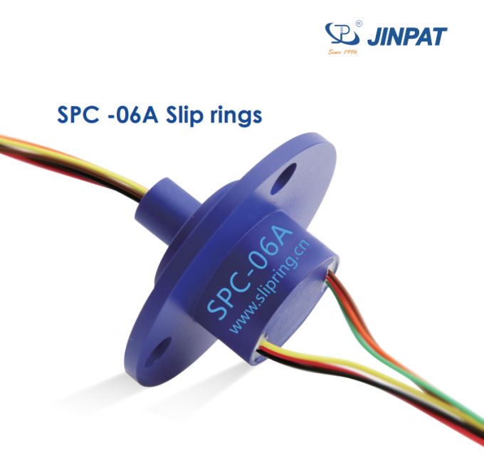 slip ring with flang are used to transmit power OD 20 mm Slip ring contact slip ring for generator